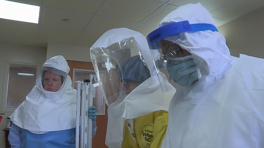 Emerging Infectious Disease Preparedness Training in Omaha