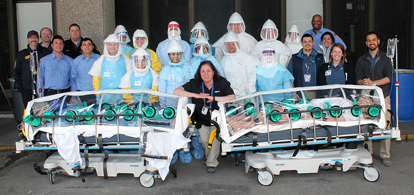 Ebola Preparedness Simulation Course in New York City - NETEC